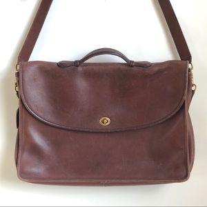 RARE Vintage Coach 1970's Messenger Bag
